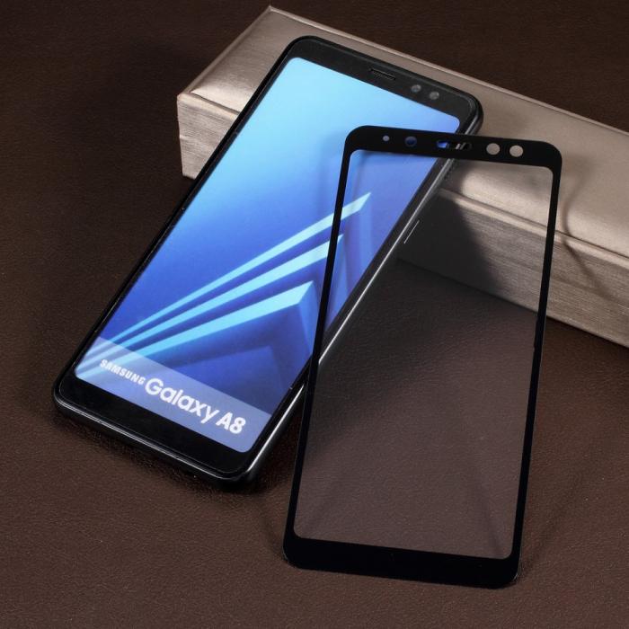 Folie sticla 5D Samsung A5/A8 (2018) - 2 culori 0