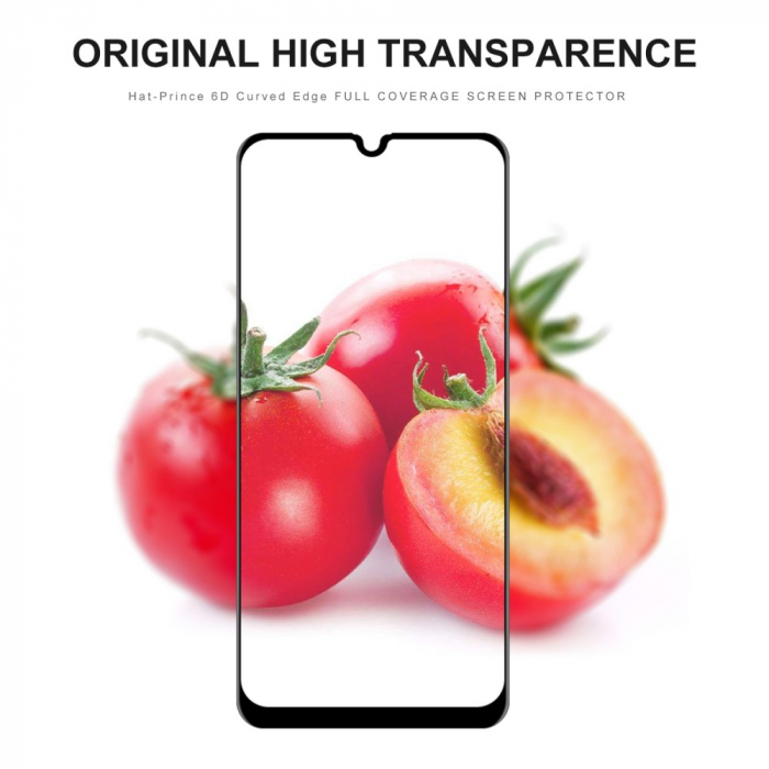 Folie sticla 5D Samsung A50 - negru [2]