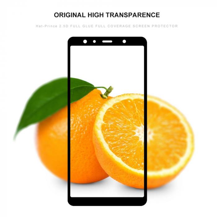 Folie sticla 5D Samsung A7 (2018) - negru 1