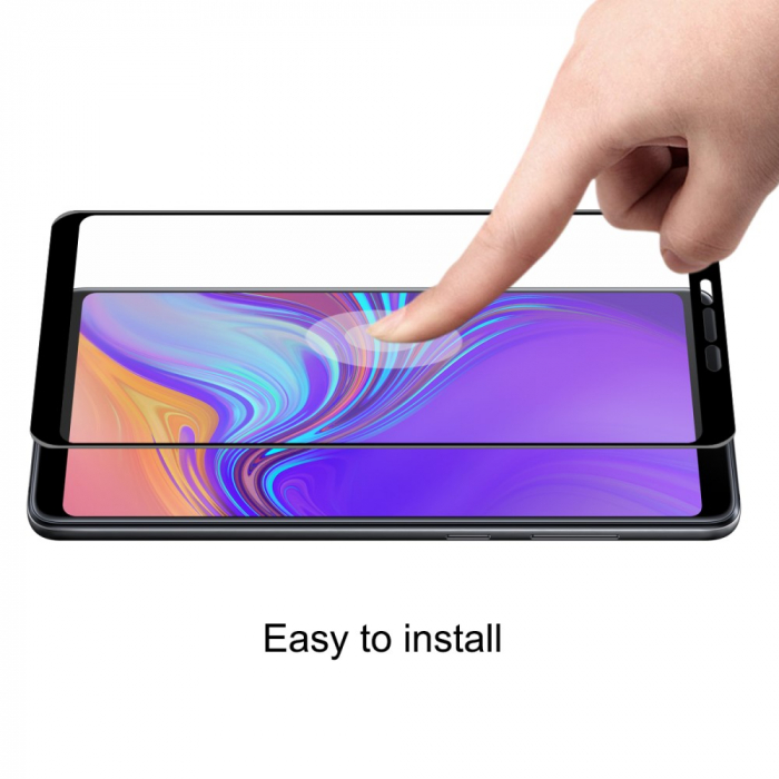 Folie sticla 5D Samsung A9 (2018) - negru 3