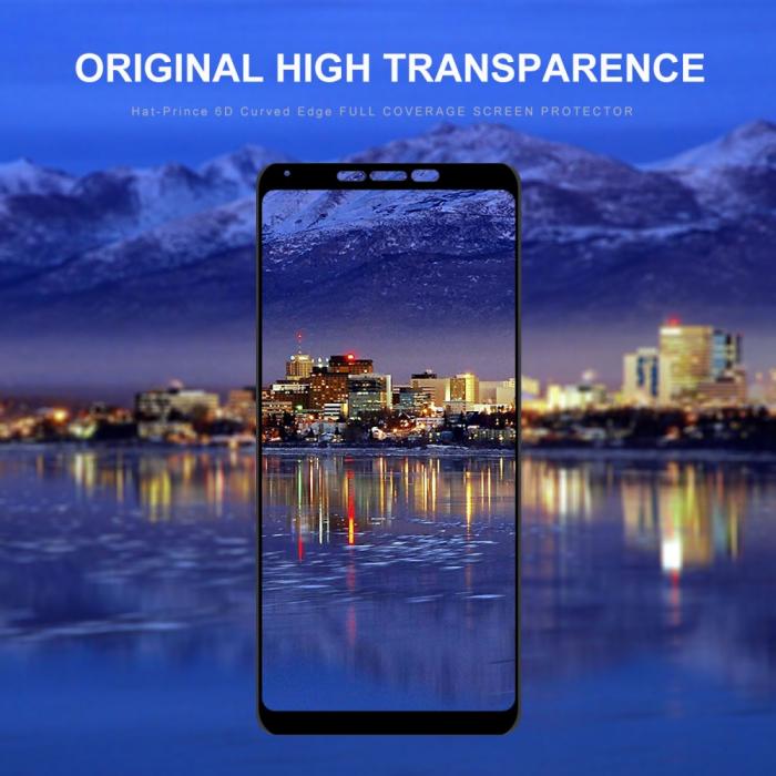 Folie sticla 5D Samsung A9 (2018) - negru 2