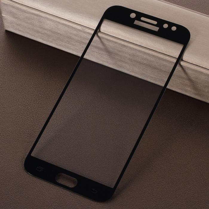 Folie sticla 5D Samsung J3 (2017)  - Negru [1]