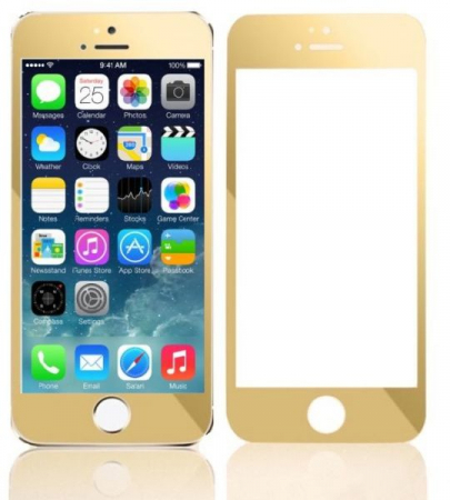 Folie sticla 9D Iphone 7/8 plus - Gold [0]