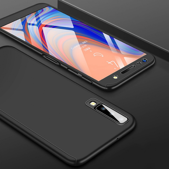 Husa 360 cu sticla inclusa Samsung A20e - 4 culori 0