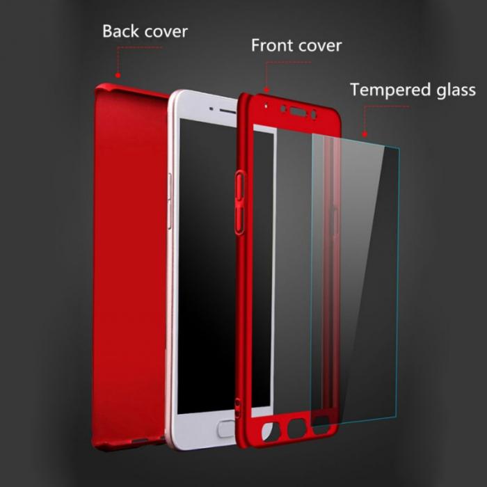 Husa 360 Samsung S7 Edge - Rosu 0
