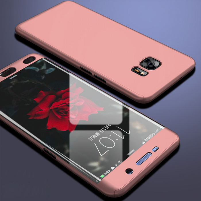 Husa 360 Samsung S7 Edge - Rose 0