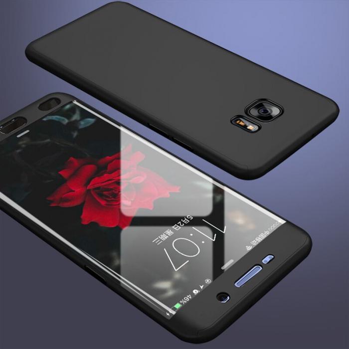 Husa 360 Samsung S7 Edge - Negru 0