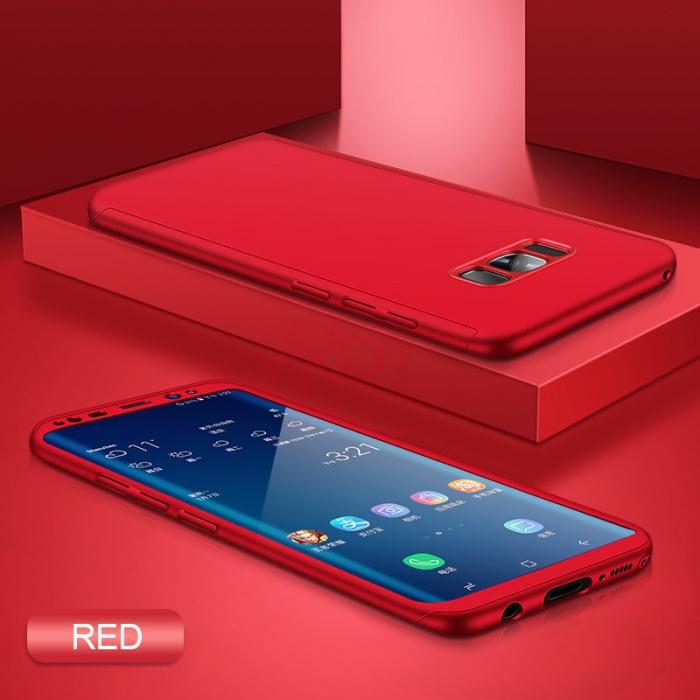 Husa 360 Samsung S8 plus - Rosu [0]