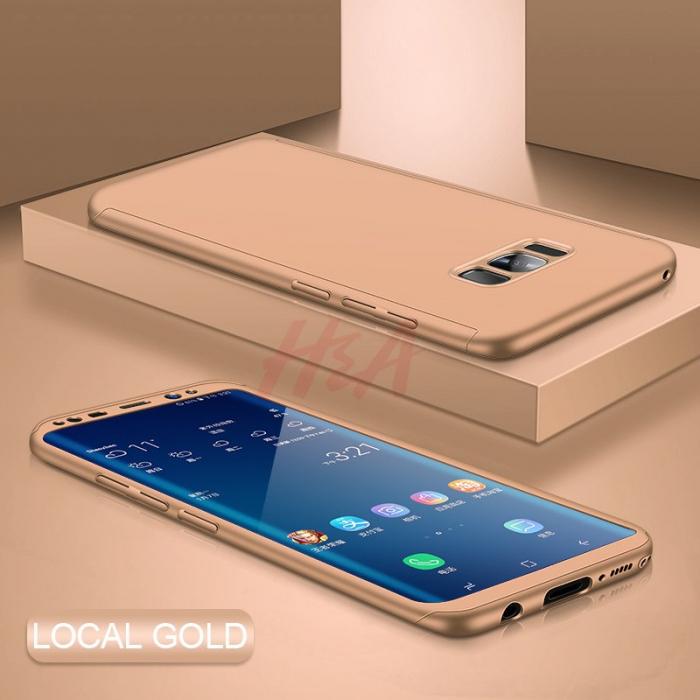 Husa 360 Samsung S8 plus - Gold [0]