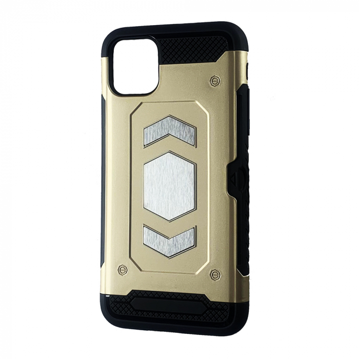 Husa armura auto Iphone 11 Pro - Gold 0