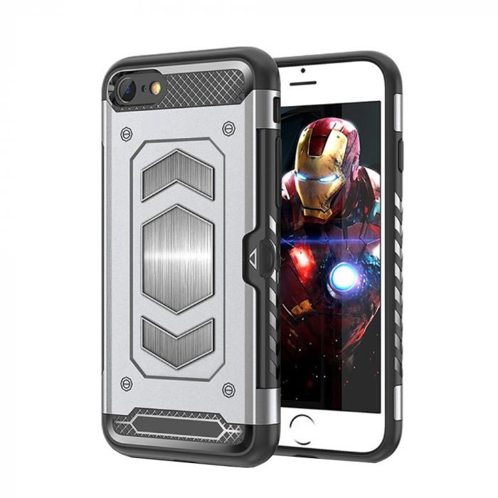 Husa armura auto Iphone 7/8 - Silver 0