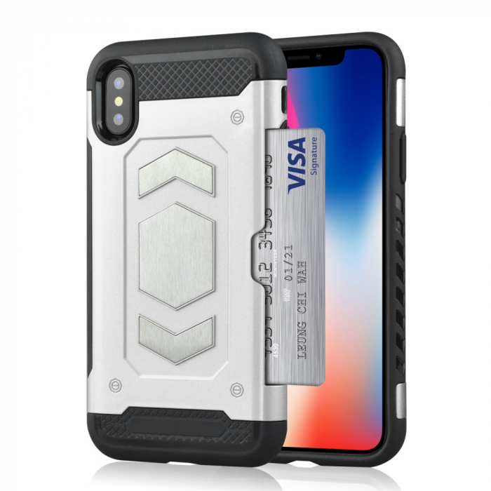 Husa armura auto Iphone X/Xs - 3 culori 2