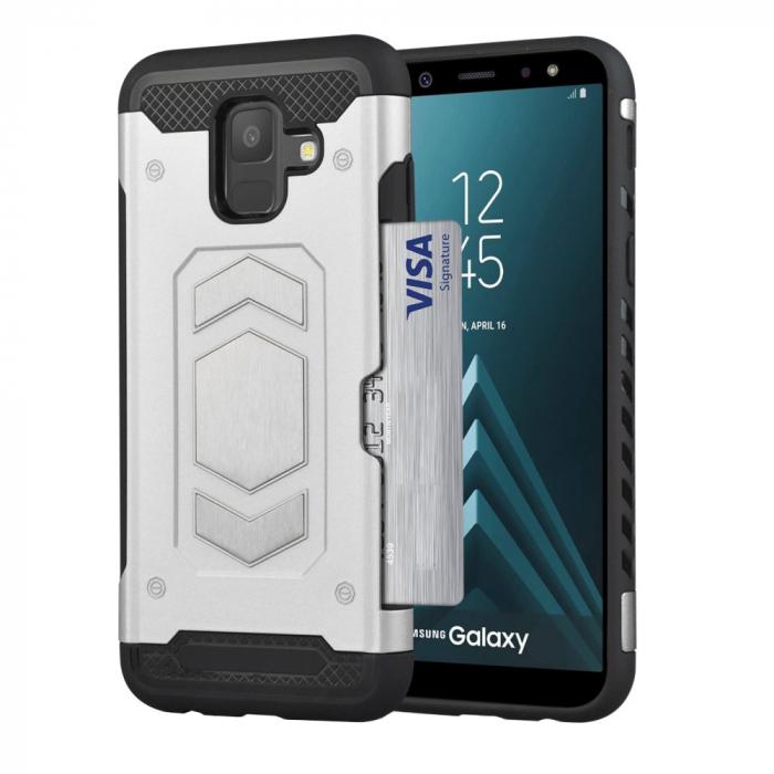 Husa armura auto Samsung A5/A8 (2018) -Silver 0