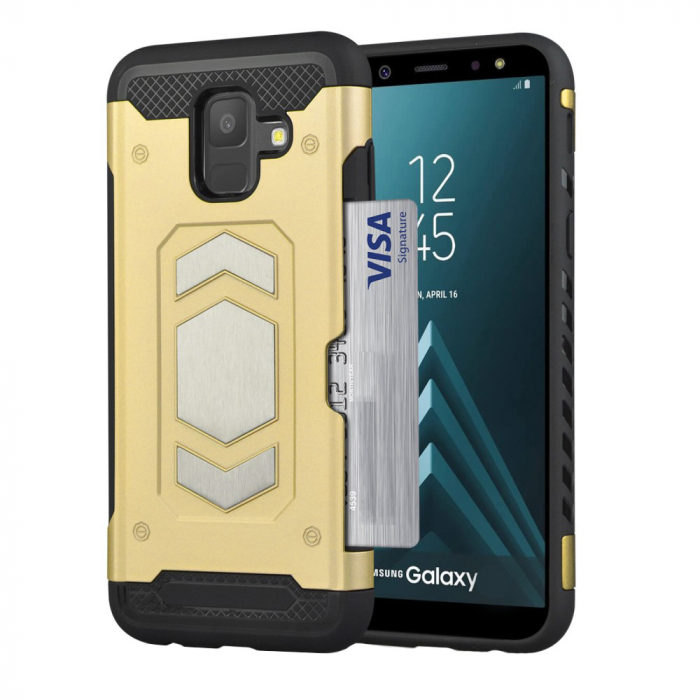 Husa armura auto Samsung A5/A8 (2018) - Gold [0]