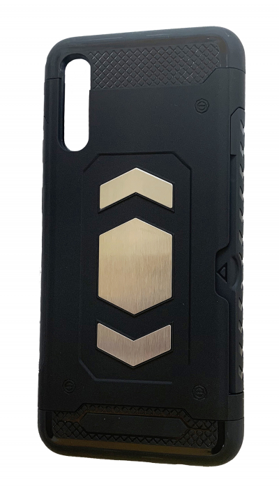 Husa armura auto Samsung A50 - Negru 0