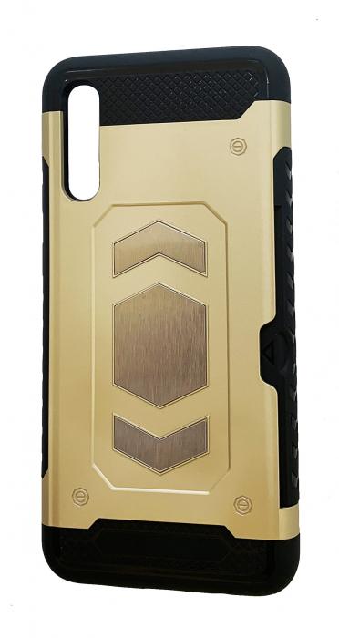 Husa armura auto Samsung A50 - Gold [0]