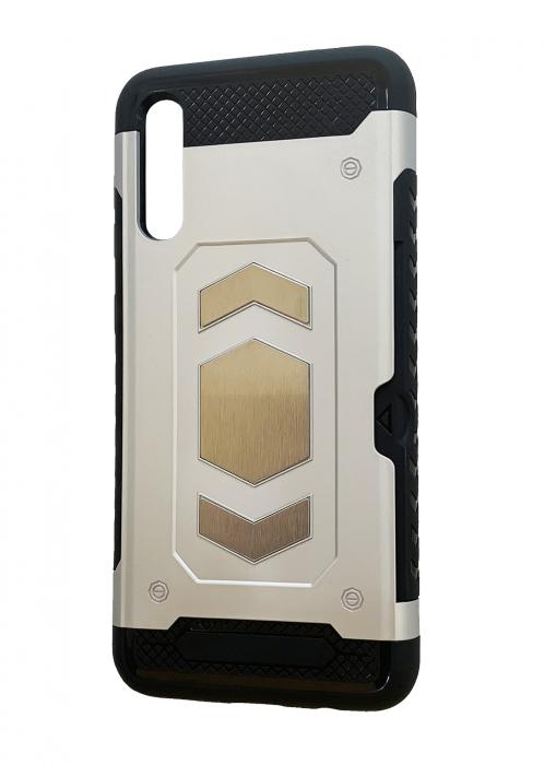 Husa armura auto Samsung A50 - Silver 0