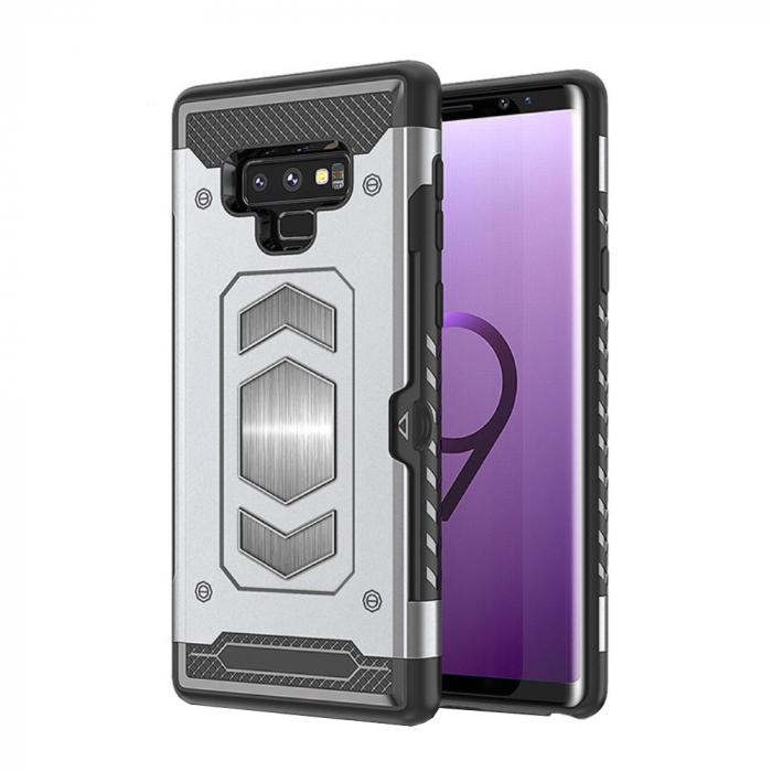 Husa armura auto Samsung Note 9 - Silver [0]