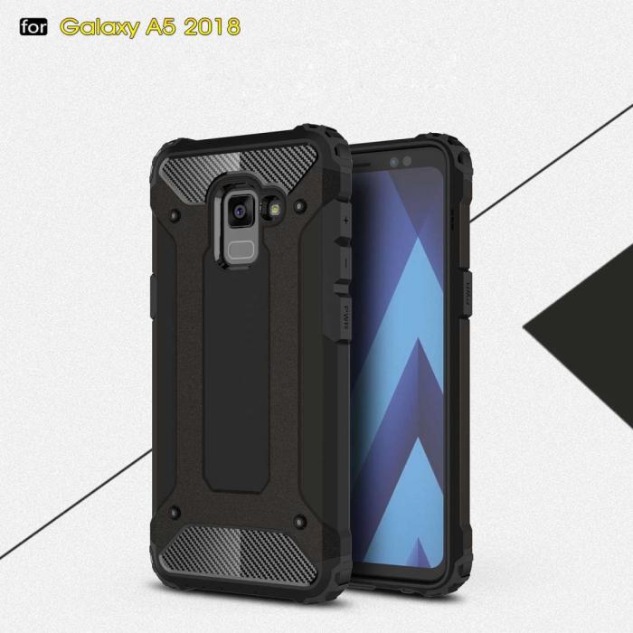 Husa armura stong Samsung A5/A8 (2018) - 3 culori 0