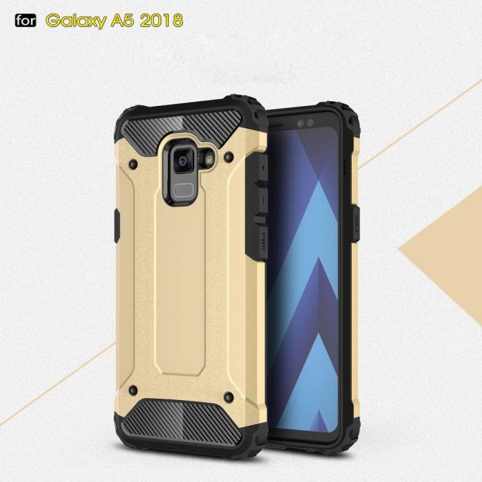 Husa armura stong Samsung A5/A8 (2018) - 3 culori 2