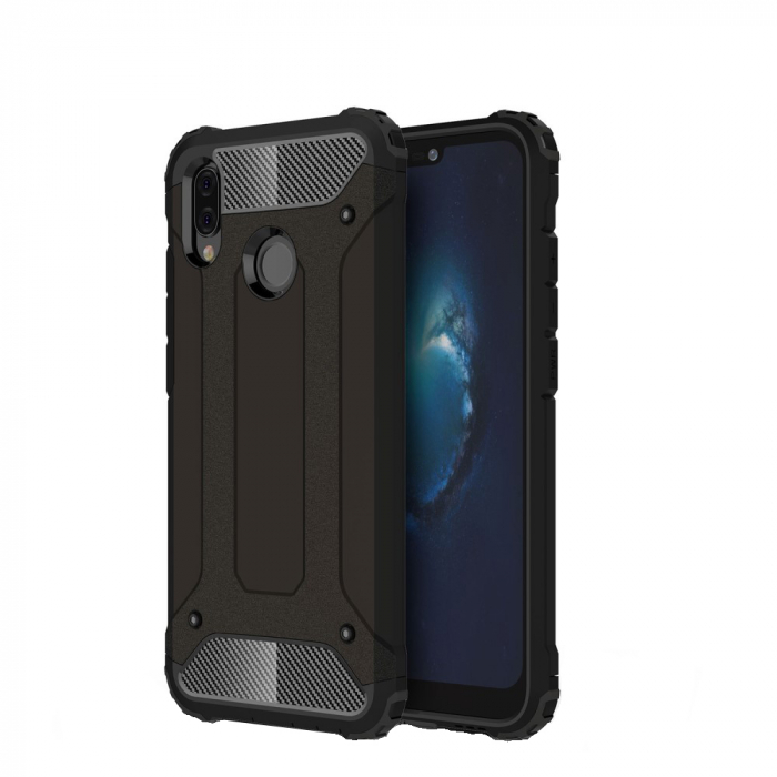 Husa armura strong Huawei P20 Lite - Negru 0