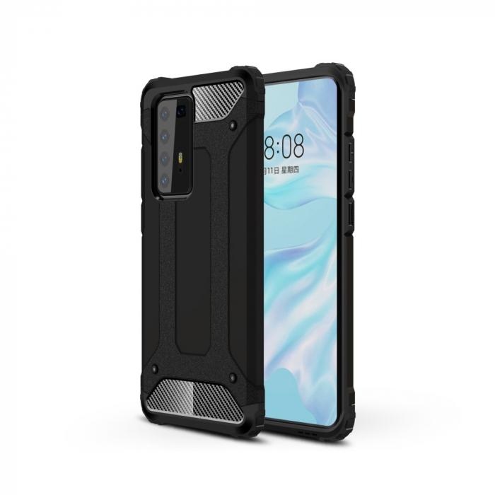 Husa armura strong Huawei P40 Pro, Negru 0