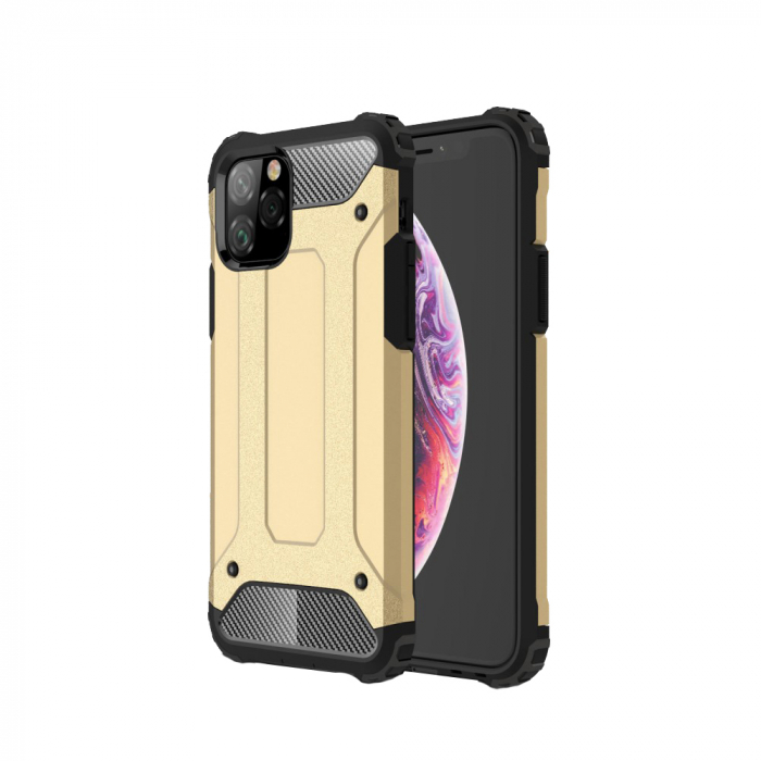 Husa armura strong Iphone 11 Pro Max - Gold 0