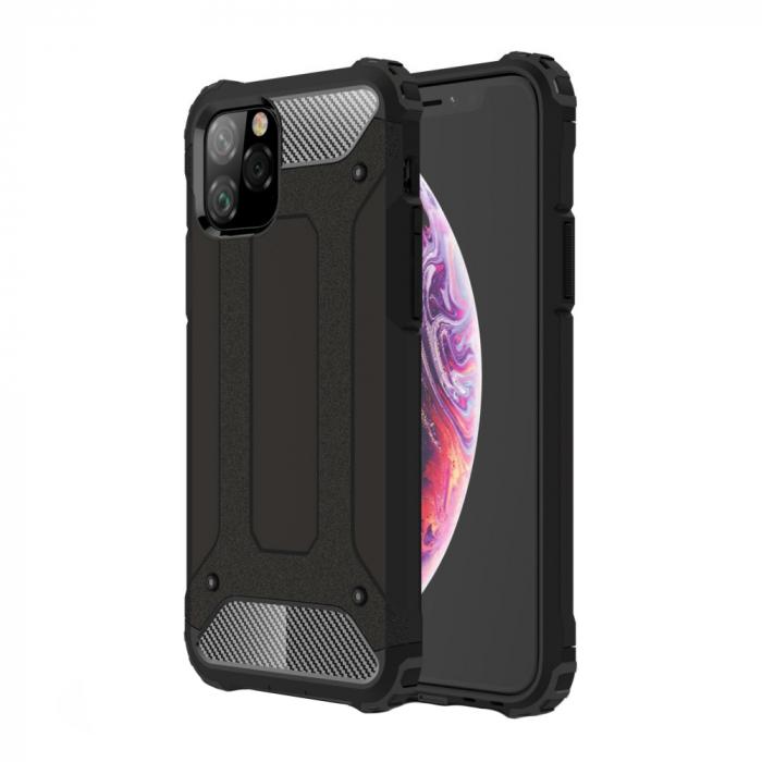 Husa armura strong Iphone 11 Pro Max - Negru 0