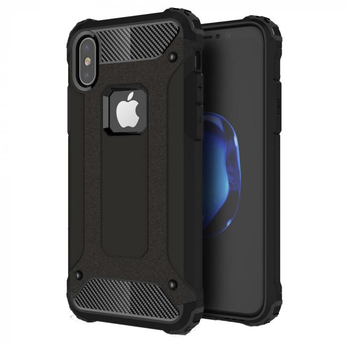 Husa armura strong Iphone X/Xs, Negru 0