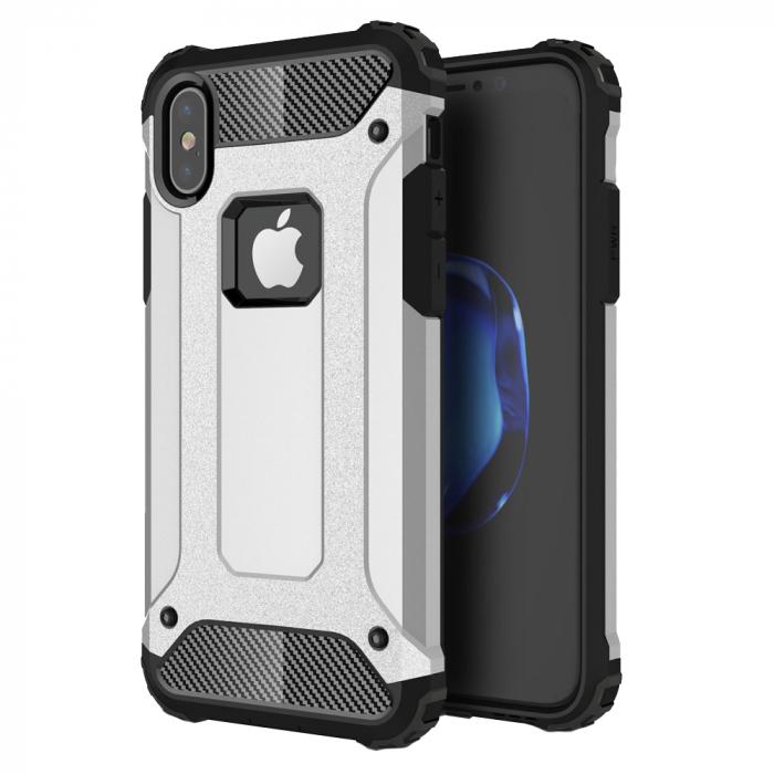 Husa armura strong Iphone Xr, Silver 0