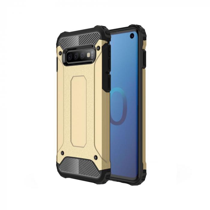 Husa armura strong Samsung S10E - Gold 0