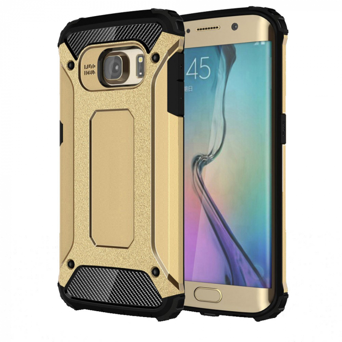 Husa armura strong Samsung S7 Edge, Gold 0