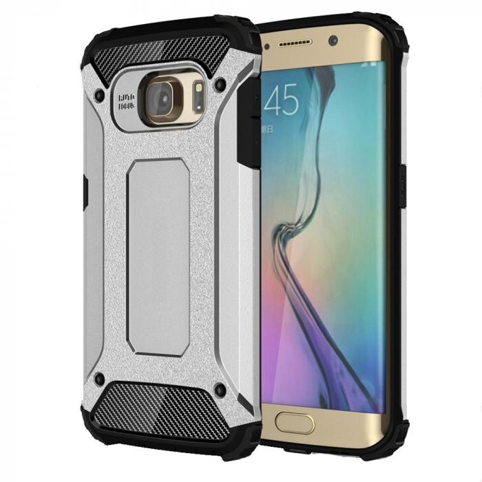Husa armura strong Samsung S8 plus - Silver 0