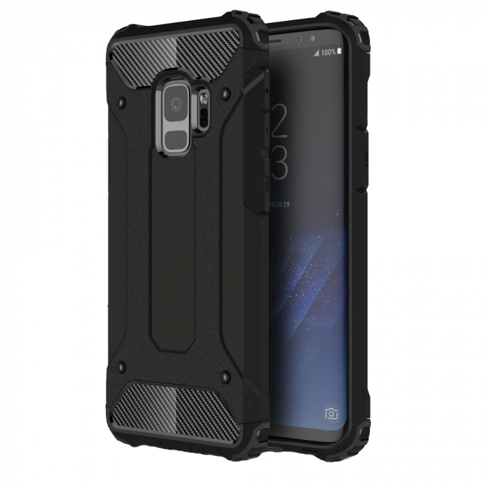 Husa armura strong Samsung S9 - Negru 0