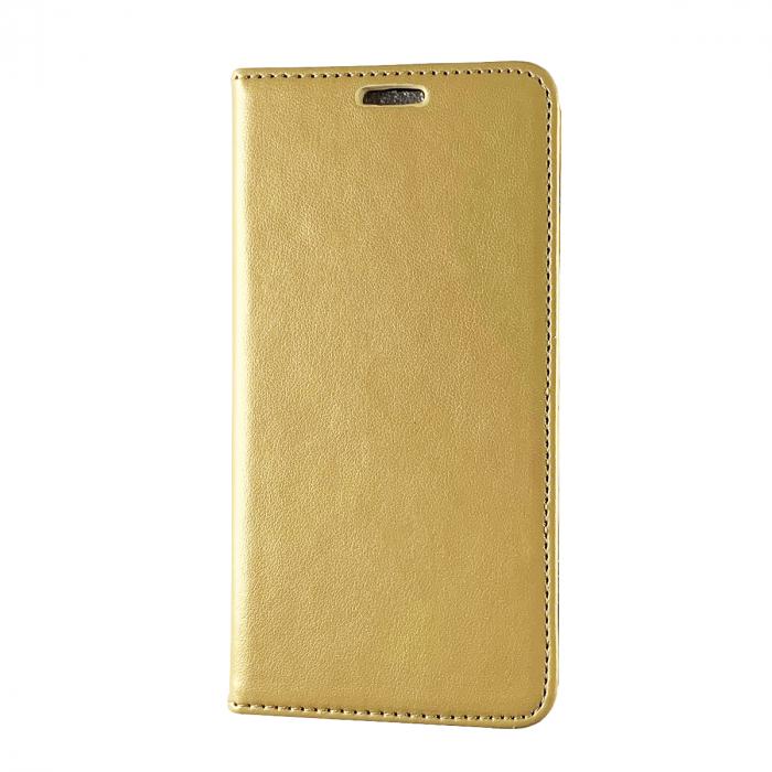 Husa carte piele ecologica Samsung A5 2016, Gold 0