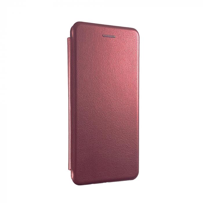 Husa carte soft Samsung A70, Burghundi 0