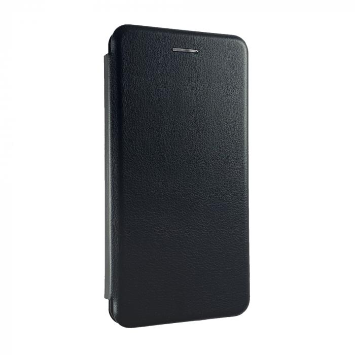 Husa carte soft Samsung A6 plus (2018), Negru [0]