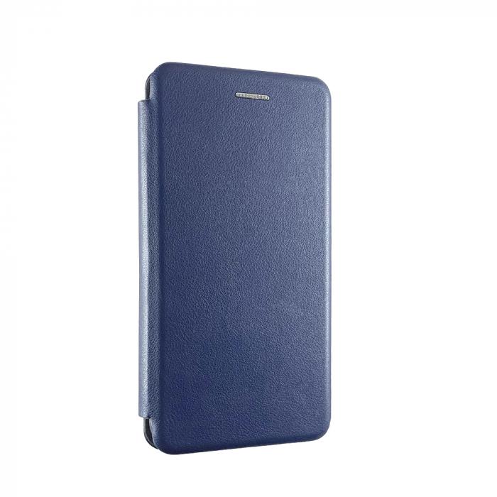 Husa carte soft Samsung A6 plus (2018), Albastru 0