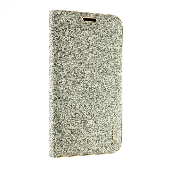 Husa carte Venus Samsung A6 plus (2018) -Silver 1