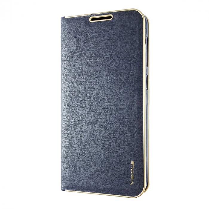 Husa carte Venus Samsung J7 2017 - Albastru 0