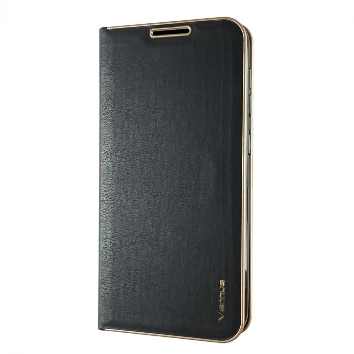 Husa carte Venus Samsung S7, Negru [0]