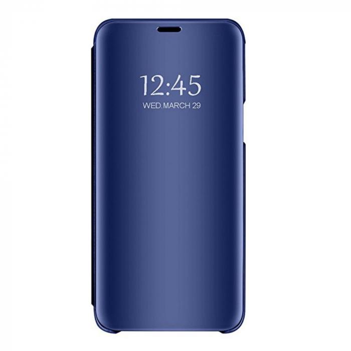 Husa clear view Huawei P20 Lite 2019, Albastru 0
