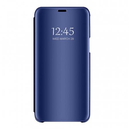 Husa clear view Huawei P30 Lite, Albastru 0