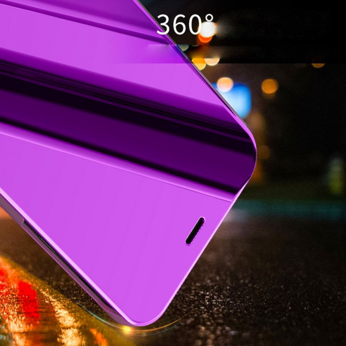 Husa clear view Samsung A9 2018 , Mov 2