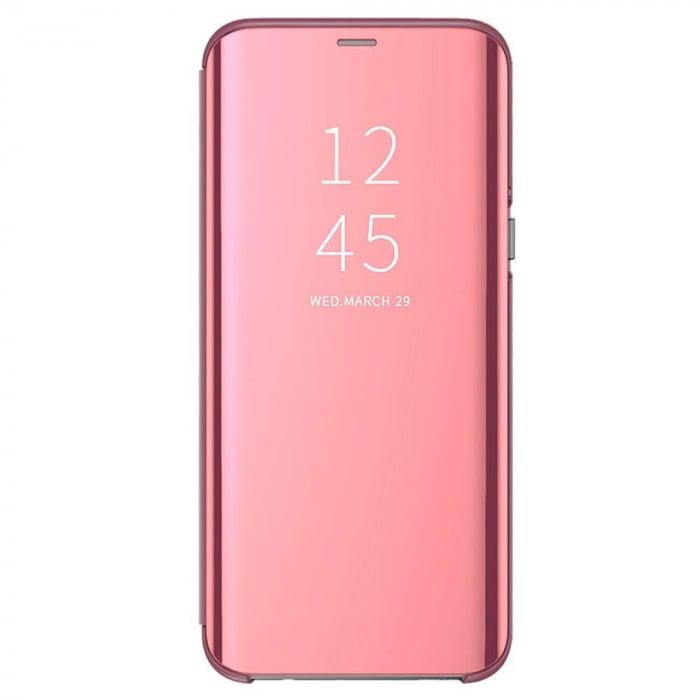Husa clear view Samsung S10E, Rose 1