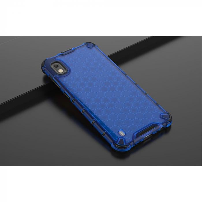 Husa fagure antishock Samsung A10, Albastru 1