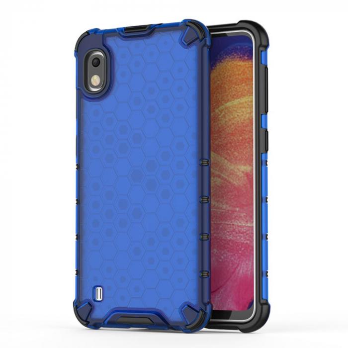 Husa fagure antishock Samsung A10, Albastru 0