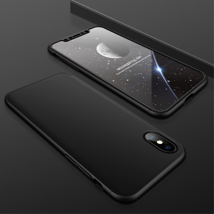 Husa GKK Iphone X/Xs -Negru 0