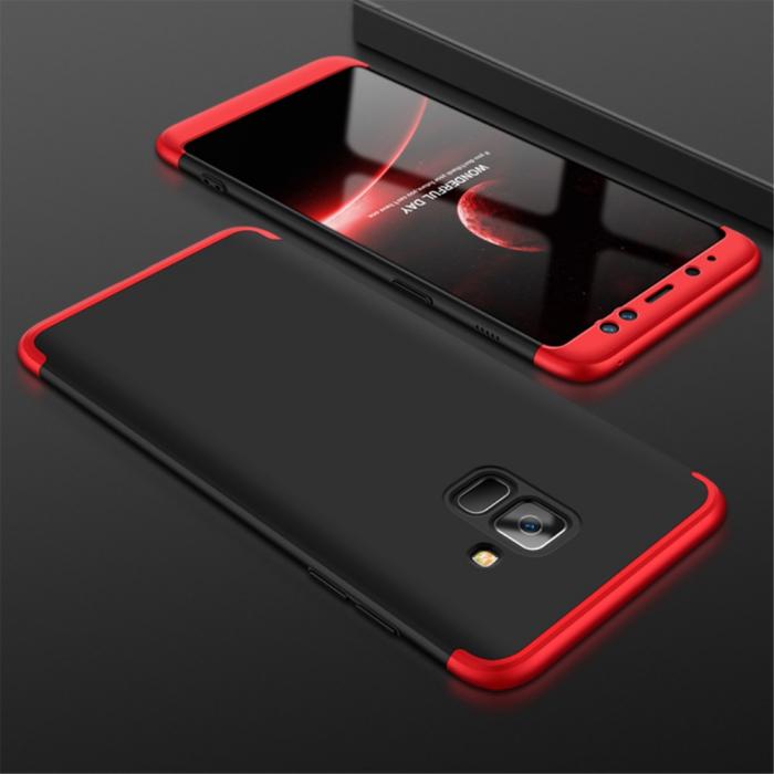 Husa GKK Samsung S9 - Negru cu rosu [0]