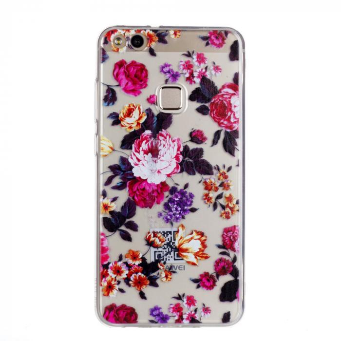 Husa Huawei P10 lite silicon trandafiri 0